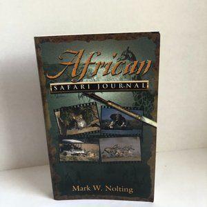 African Safari Journal Paperback Book